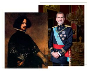 Felipe VI es descendiente de Velázquez