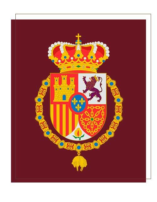 Guión Estandarte de Felipe VI